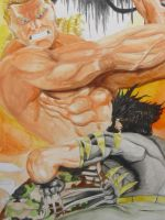 Brock and Wolvie detail by OPendleton