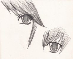 Eye Practice by shoujoartist