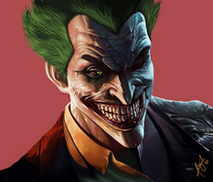 Joker MS paint by wizyakuza