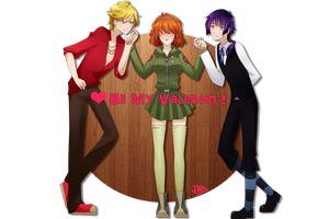 Be my valentin by Vika01