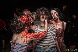 Zombie Attack by GinaBCosplay