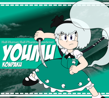 TH - Youmu Konpaku by LuigiStar445