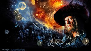 Hector Barbossa Wallpaper by Bormoglot