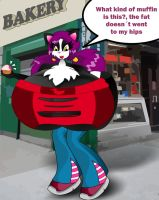 Bad muffin... Bad muffin by sandybelldf