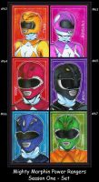 Mighty Morphin Power Rangers by Zoria3885