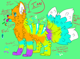 Ian The Pinata: Reference by Woods-Of-Lynn