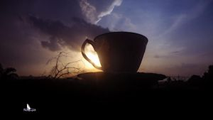 My Cup of Sunset I by LazareLobo