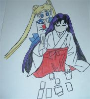 Usagi and Rei by purenightshade