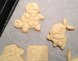Pokemon Cookies by WarpzonePrints
