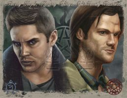 Sam and Dean, The Winchesters by PsychoSlaughterman