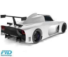 Supercar body challenge - Rear by Morfiuss