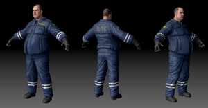 Russian traffic police cop by DartP