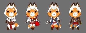 Fox assassins by temperolife