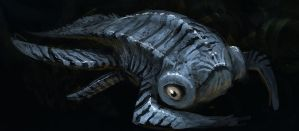 Water Creature 01 by Norke