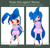 Befome-After by LadyCuteDraw