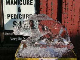 Ice Sculpture 31 by ItsAllStock