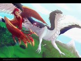 Feathered Thieves by darknightwolf2010