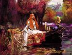 The Ladye of Shalott by AaronGarcia
