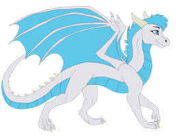 Wind Dragon Redesign by WindWo1f