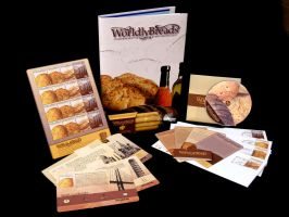 Worldly Breads Stamps by Danger-Dom