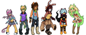 Characters PT 1 by carareed