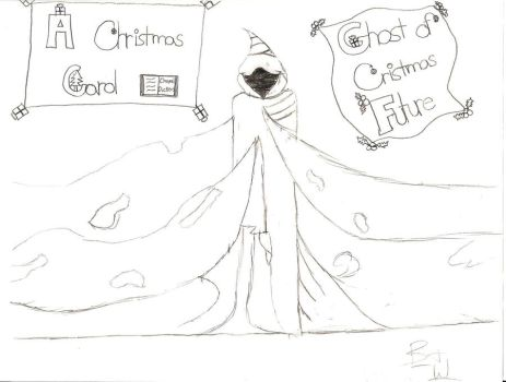 The Ghost of Christmas Future by broken-and-whole