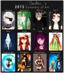 2015 Summary of Art by Delynor