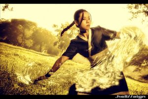 legend of water bender by hellsign