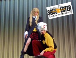 Acen 2011: Soul And Maka by blondewolf2