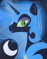 Nightmare Moon by BrownWolfFM