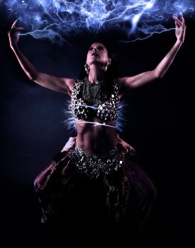Electric Belly Dance by GraphicsHunter94