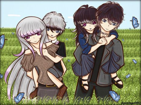 DLOC: Amina and Ruki's Family by AquaAngel1010