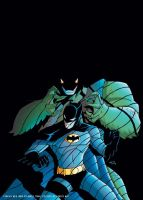 BATMAN STRIKES 46 COVER by deemonproductions