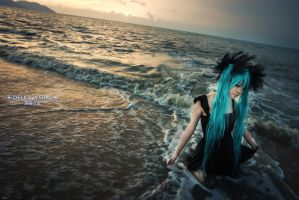 Deep Sea Girl -Hatsune Miku by griffin2100