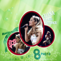 PHOTO Pack (5) Ariana Grande by GayeBieber94