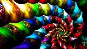 Emotion With Color by Fractamonium