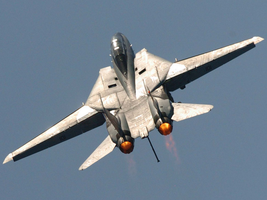 F-14 climbing to the Angels by Hun100D
