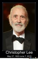 Christopher Lee by slyboyseth