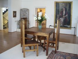 Table and Chairs by rifka1