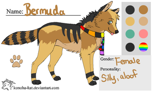 :Bermuda:Ref: by NightmareAdoptables