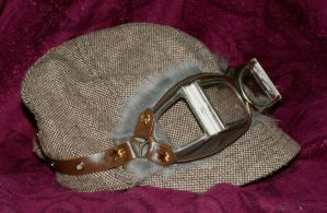Fur Aviator's Goggles by pennyfarthing1893