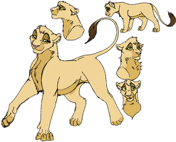 Jua- The Lion King OC by Kisshus-Koneko-Chan
