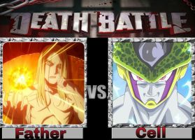 Father Vs Cell by InfinitePaladin