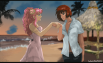 A Date with Lacus by lacusyamato2008