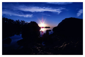 Sunrise on Key Largo by aquapell