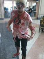 Zombie Dave - Metrocon by Strider-rumps