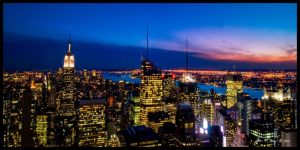 Top of the Rock by amhaley