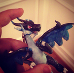 Mega Charizard X :For Sale or Trade: by Self-Eff4cing