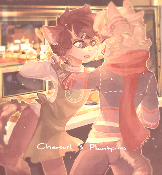 { collab } but i hate you, i really hate you by cherivil