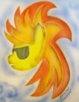 Daily Airbrush#4 Spitfire, toned and recolored by batosan